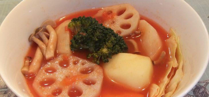 野菜たっぷり☆トマトポトフ風