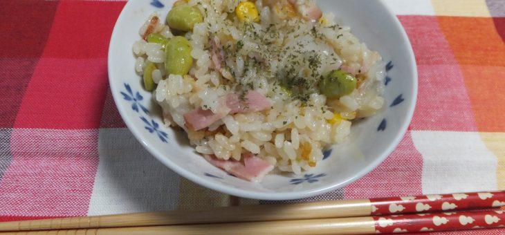 新玉葱まるごと炊き込みご飯★